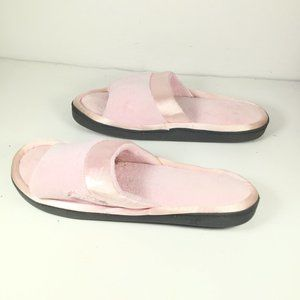 Isotoner Slippers Pink Size 8.5-9